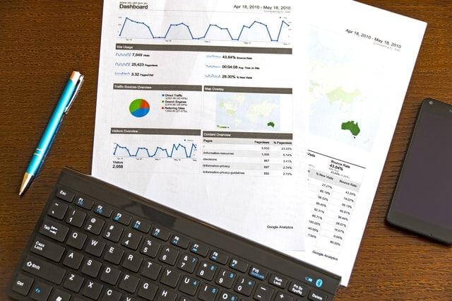 Google Analytics Printout